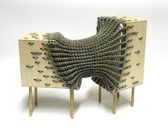 Experimental hybrid textile furniture by Kata Monus Dog Furniture, Furniture Design, Sofa Design, Interior Design, Convertible Furniture, Textiles, Cool Chairs, Contemporary Furniture, Cool Designs
