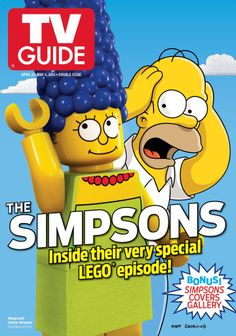 Lego Simpsons TV Guide