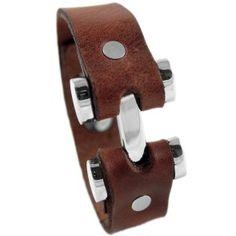 Armband Honolulu Braun von COWstyle