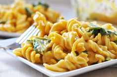 Sweet Potato and Kale Mac n' Cheese