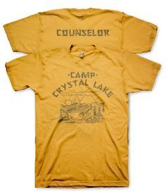 c70ac41cf0b Camp Crystal Lake T Shirt Friday the 13th Shirt Vintage Horror Movie ...