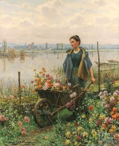 Victor Gabriel Gilbert_The Flower Seller