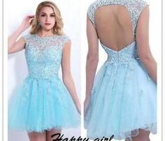 Homecoming Dress, New Arrival Homecoming Dress, Cheap Homecoming Dress, Short Homecoming Dress, Sky Blue Dress for School Dancing Party, Hot Sale Homecoming Dress, Custom Dress