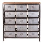 Woodland Imports Wood 9 Drawer Chest | AllModern