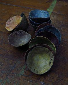 ceremonial bowls; Kathy Van Kleeck