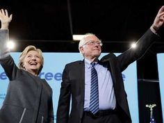 Clinton, Sanders promote tuition free college in joint NH appearance