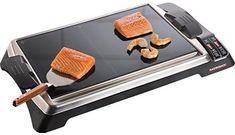 Tischgrill Teppanyaki Glas-Grill Advanced, 1280 W, 1280 Watt Teppanyaki, Teppan Yaki Grill, Bbq Grill, Japanese Style, Glass, Kitchen, Motorhome, Nova, Appliances