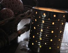 How to Make a Tin-Can Lantern via Rookie mag