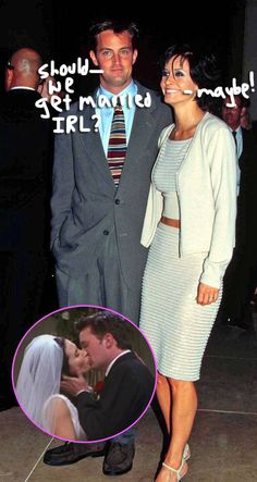 Be still our hearts -- Monica and Chandler might have a second act!