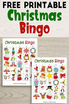 holiday party These free printable Christmas bingo cards are a fun, no-prep activity to keep the kids busy! Its also a fun holiday party game. Christmas Bingo Printable, Free Printable Bingo Cards, Christmas Bingo Cards, Christmas Games For Kids, Holidays With Kids, Christmas Activities, Bingo For Kids, Holiday Party Games, Holiday Parties