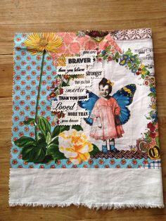 Inspiration on fabric.. Handmade by Nicolene Scott