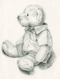 teddy bear drawing 7 http://hative.com/teddy-bear-drawings/
