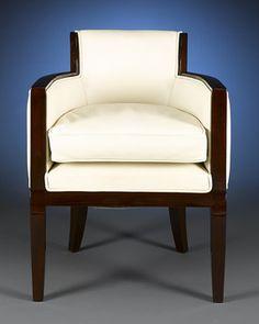 Art Deco Armchair ~ M.S. Rau Antiques.......