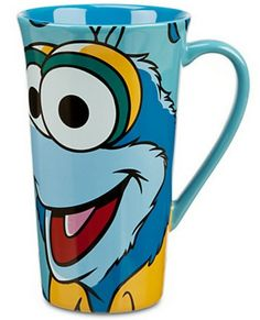 This Disney Store The Muppets Most Wanted movie Gonzo coffee mug is from a page of all of the Most Wanted themed mugs.  #coffeemugs