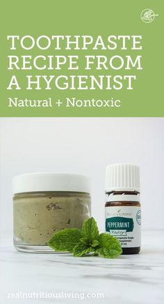 holistic health remedies Natural Toothpaste Recipe from a Hygienist - Real Nutritious Living - An easy natural toothpaste recipe from a dental hygienist. This recipe will freshen breath and leave teeth feeling clean and your mouth feeling healthy. Toothpaste Recipe, Homemade Toothpaste, Natural Toothpaste, Homemade Mouthwash, Dental Health, Oral Health, Health Tips, Holistic Dentist, Nutrition