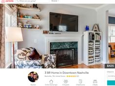 Current Nashville Airbnb hosts may be exempt from proposed guest cap