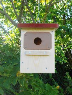 Caja nido aves insectívoras de Rara Avis Burgos por DaWanda.com