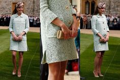 Pregnant Kate Middleton Ditches Nude Hose - The Cut
