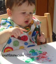 Craftulate: Homemade  Edible Paint