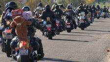 Thousands of motorcyclists ride to help city's less fortunate children