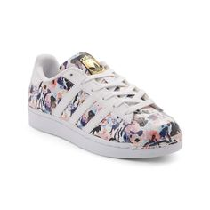 This season, flourish in floral with the timeless new Superstar Floral Athletic Shoe from adidas! These iconic shell-toe Superstar sneakers get a bold new lift, Adidas Superstar, Fitness Logo, Fitness Sport, Fitness Apparel, Superstars Shoes, Nike Shoes Outlet, Cute Shoes, Adidas Women, Fashion Shoes
