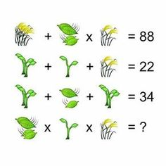 View more puzzles on fundoes ot make ur brain sharp Number Puzzles, Logic Puzzles, Crossword Puzzles, Brain Teasers Pictures, Brain Teasers With Answers, Brain Teaser Questions, Geometry Triangles, Systems Of Equations, Order Of Operations