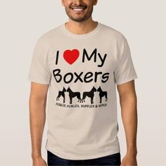 (I Love My FOUR Boxer Dogs Tee Shirt) #Boxer #Dog #Dogs #Four #Heart #Love #LoveMy #Loves #Silhouette is available on Funny T-shirts Clothing Store   http://ift.tt/2c9qk6y