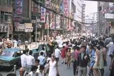컬러로 보는 '옛날 서울' 사진 23장 - 인스티즈(instiz, 音思提资) 인티포털 Korean Photo, Watercolor Mixing, Korean People, Korean Traditional, Old Pictures, Historical Photos, Vintage Photos, Places To Visit, Street View