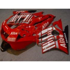 Honda CBR600 F3 1995-1996 Injection ABS Fairing - Alice - Red/White | $699.00