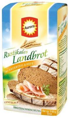 Aurora Rustikales Landbrot Bachmischung 6x500g - http://back-dein-brot-selber.de/backmischungen/aurora-rustikales-landbrot-bachmischung-6x500g/