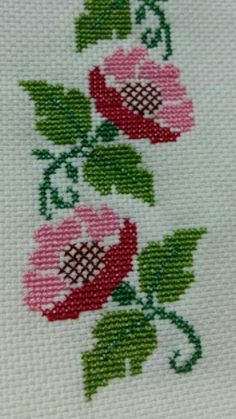 Egoshop Silk Ribbon Embroidery Kit Colorful Life DIY Wall Decor Silk Ribbon Embroidery Kit With English Instruction - Embroidery Design Guide Simple Cross Stitch, Cross Stitch Rose, Cross Stitch Borders, Cross Stitch Flowers, Cross Stitch Designs, Cross Stitching, Cross Stitch Embroidery, Cross Stitch Patterns, Silk Ribbon Embroidery