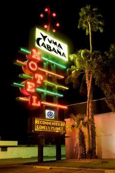 Yuma Cabaña Motel by Curtis Gregory Perry, via Flickr