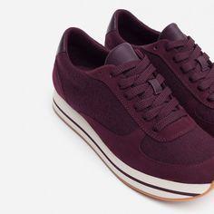 JOGGING FIELTRO-Ver todo-Zapatos-MUJER | ZARA España