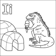 igloo coloring pages teachers - photo#27
