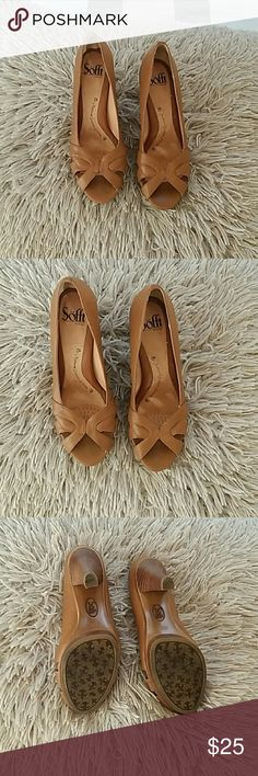 Sofft Sofft since 1927 heels natural leather lining/ good condition Sofft Shoes Heels
