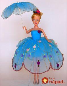 Nylon Flowers, Cloth Flowers, Diy Flowers, Paper Flowers, Barbie Gowns, Barbie Dress, Barbie Clothes, Nylon Crafts, Jute Crafts