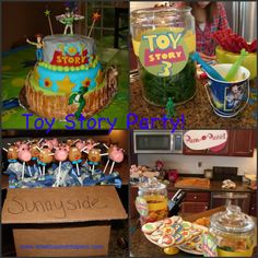 Toy Story Birthday Party via Stilettos and Diapers
