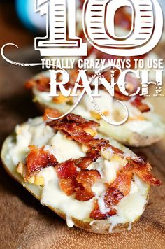 BACON + RANCH... End of story.