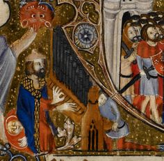 Detail Egerton MS 3277 Date 2nd half of 14th century  Title Psalter and Hours (the 'Bohun Psalter') f.67r