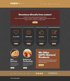 Food www Responsive #wordpresstheme wordpress website template