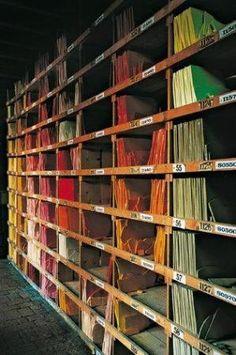 Biblioteca Orsoni - glas / kleuren - Venetie
