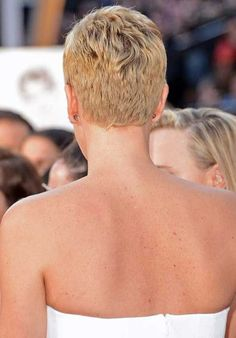 Charlize Theron Pixie Back View