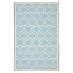 Casablanca Dhurry Rug - Light Blue/Ivory - (4'x6') - Safavieh