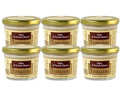 White Truffle Sauce by Tentazioni (Case of 6 - 6.35 Ounce Jars) Learn more by visiting the image link.