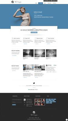 THU - Responsive Wordpress Theme on Web Design Served