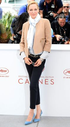 Best Dressed Stars on Cannes Red Carpet 2017 - Uma Thurman