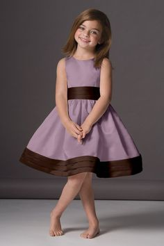 Cute dress for a flower girl.