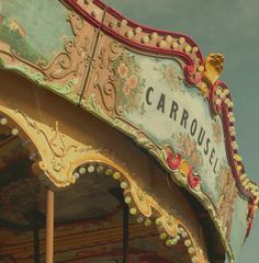 Tibidabo Carrousel Barcelona Spain