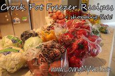 27 meals: Crock Pot Freezer Recipes Crock Pot Freezer Cooking {Round 3}, Paleo and Allergy Friendly
