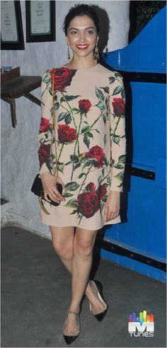 Deepika at Tamasha success party